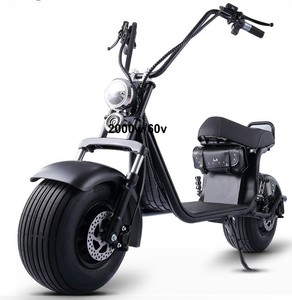 NEW design No Foldable and 40-60km Range Per Charge, city coco 2 seater electric scooter