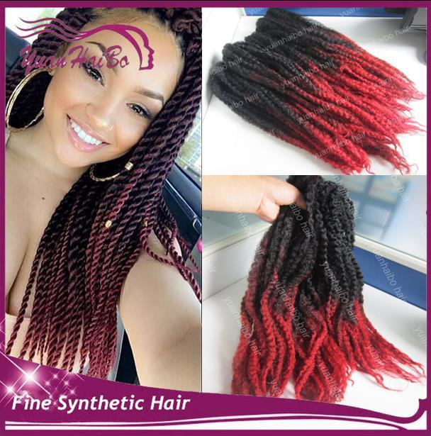 20 fold de couleur deux tons noirrouge synthtique - Coloration Rouge Sur Cheveux Noir