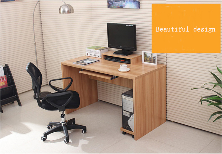 Small Wooden Low Price Office Computer Table Design