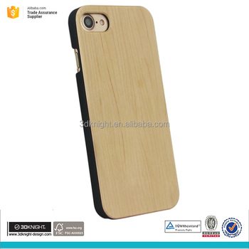 Wood UV printing design case for iphone 7, TPU / PC custom design case for iphone 7 sublimation phone case
