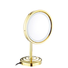 Factory sale LY-2209D modern round desk decorative LED bathroom mirror