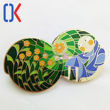 new design custom fashion soft enamel metal lapel pin