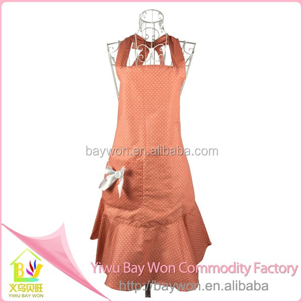 Hot Sale Cheap Wholesale Design Cotton Kitchen Aprons / Cooking ...
