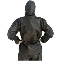 Disposable PP non woven SMS Work Clothing For Work Uniform Of Engineer Work Wear Suit with hood jacket & trousers