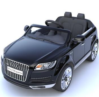 Enfants Buy Miniatures Licesned Ride Électrique Pour Nouvelle Sur La Voiture Voitures Audi rc À Q7 De 12volt Les Enfants Jouet y8OvmnN0w