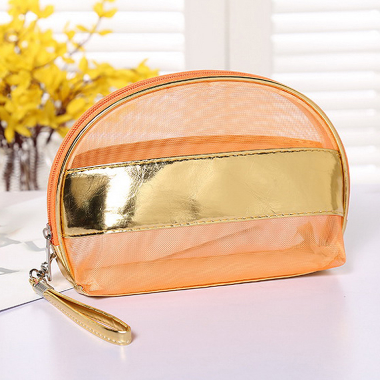 Small Easy Carry Cosmetic Pouch Bag Makeup Cosmetic Bag