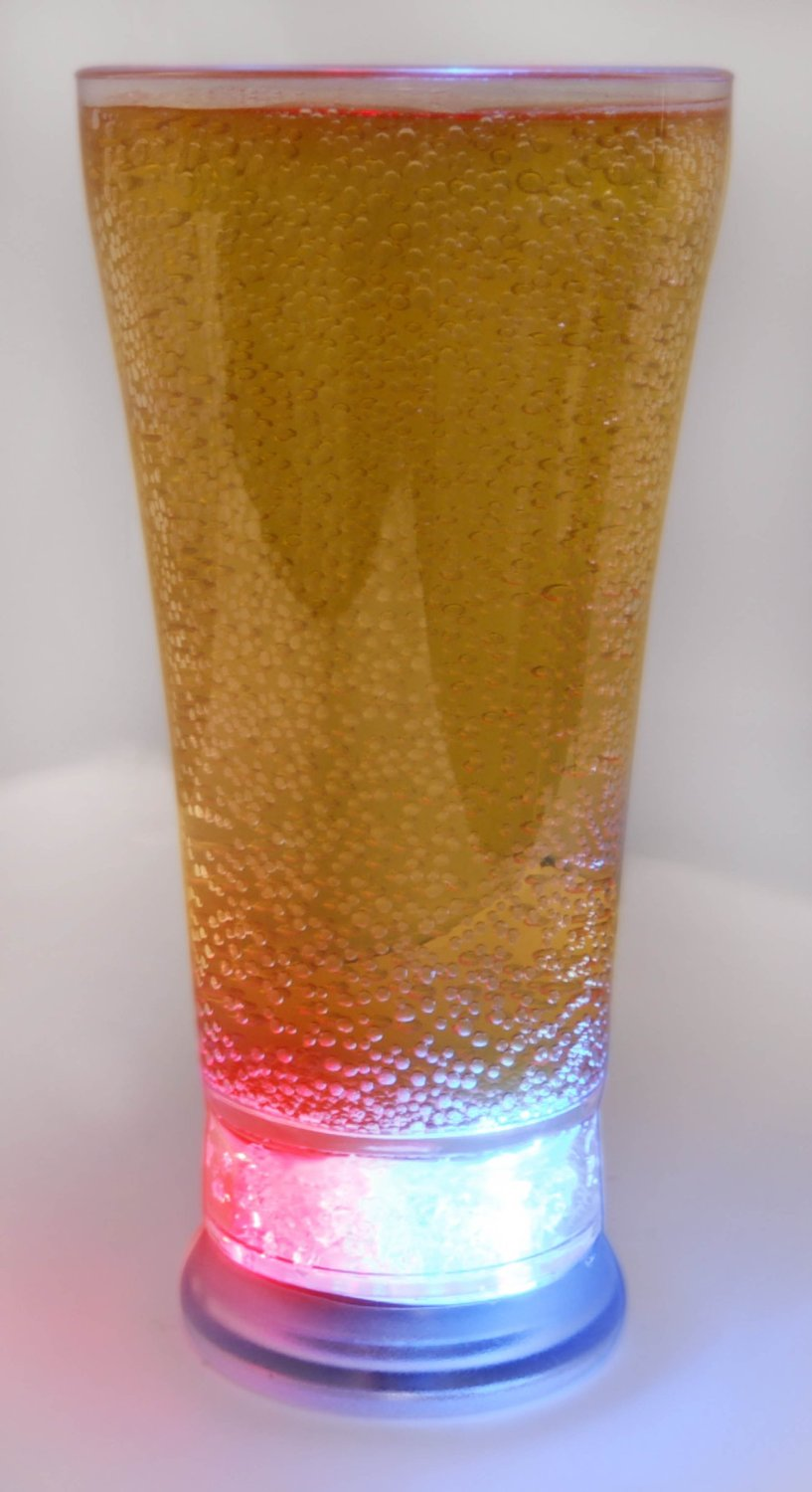 12oz led Cola drinking glasses