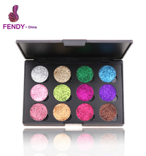 Mineral Cosmetic Make Up Private Label 12 color Eyeshadow Palette Eye Shadow Makeup Palette