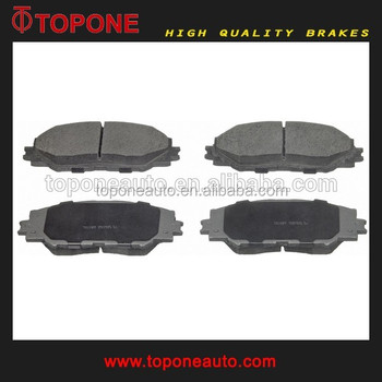 D2268 Brake Pad With Shims No Dust Noise Auto For Toyota Rav4 Oe