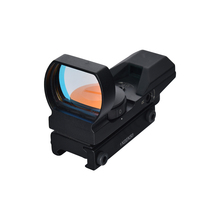 1X22X33 Tactical Red Dot Sight 4 Reticle Reflex Sight Red Dot Scope For Airgun Rifle Shooting Hunting