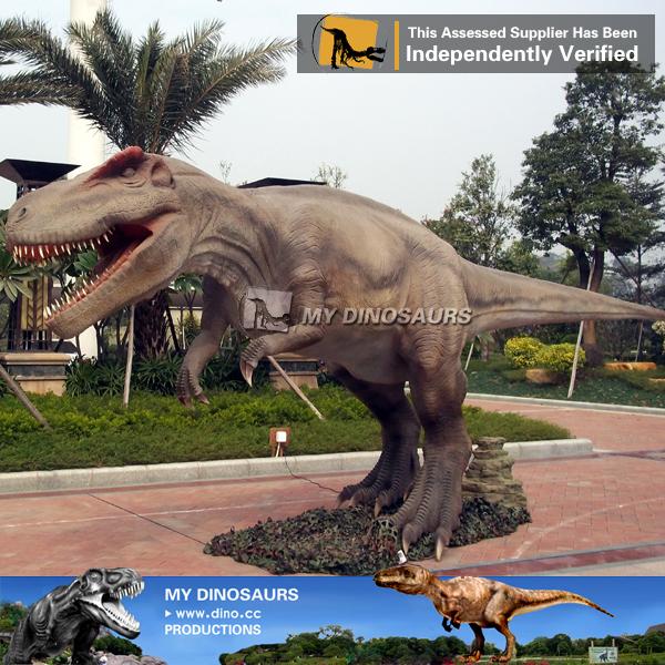 Novelty Outdoor Playround Animatronic Robotic Dinosaur