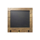 Easy erase black hanging wood chalkboard for wall decoration with hook