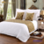 100% Polyester Bed Decorative Linen Hotel Printed Bed Flag/Bed Throw