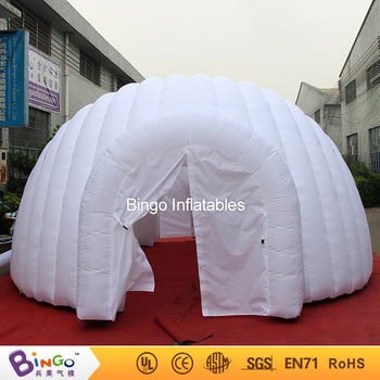 White nylon 6M inflatable large kids igloo play tent for sale : igloo tent for kids - memphite.com