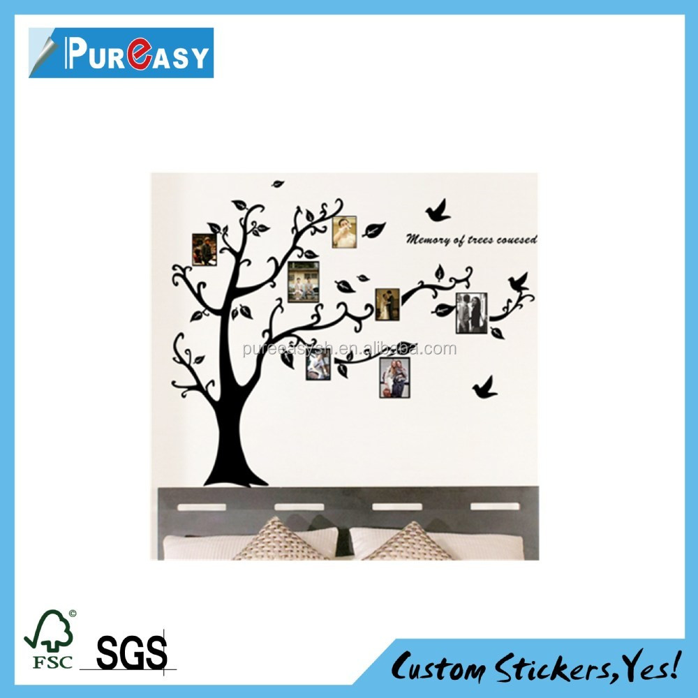 Custom home wall vinyl sticker decals with laminaton
