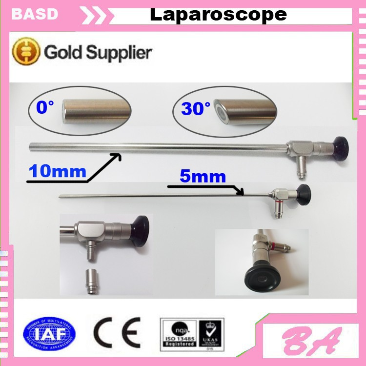 Autoclavable laparoscope/0 degree laparoscope/30 degree laparoscope