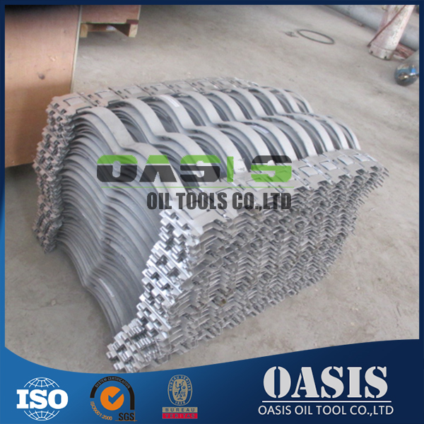 API 10D Stainless Steel Flexibility BOW casing Centralizers