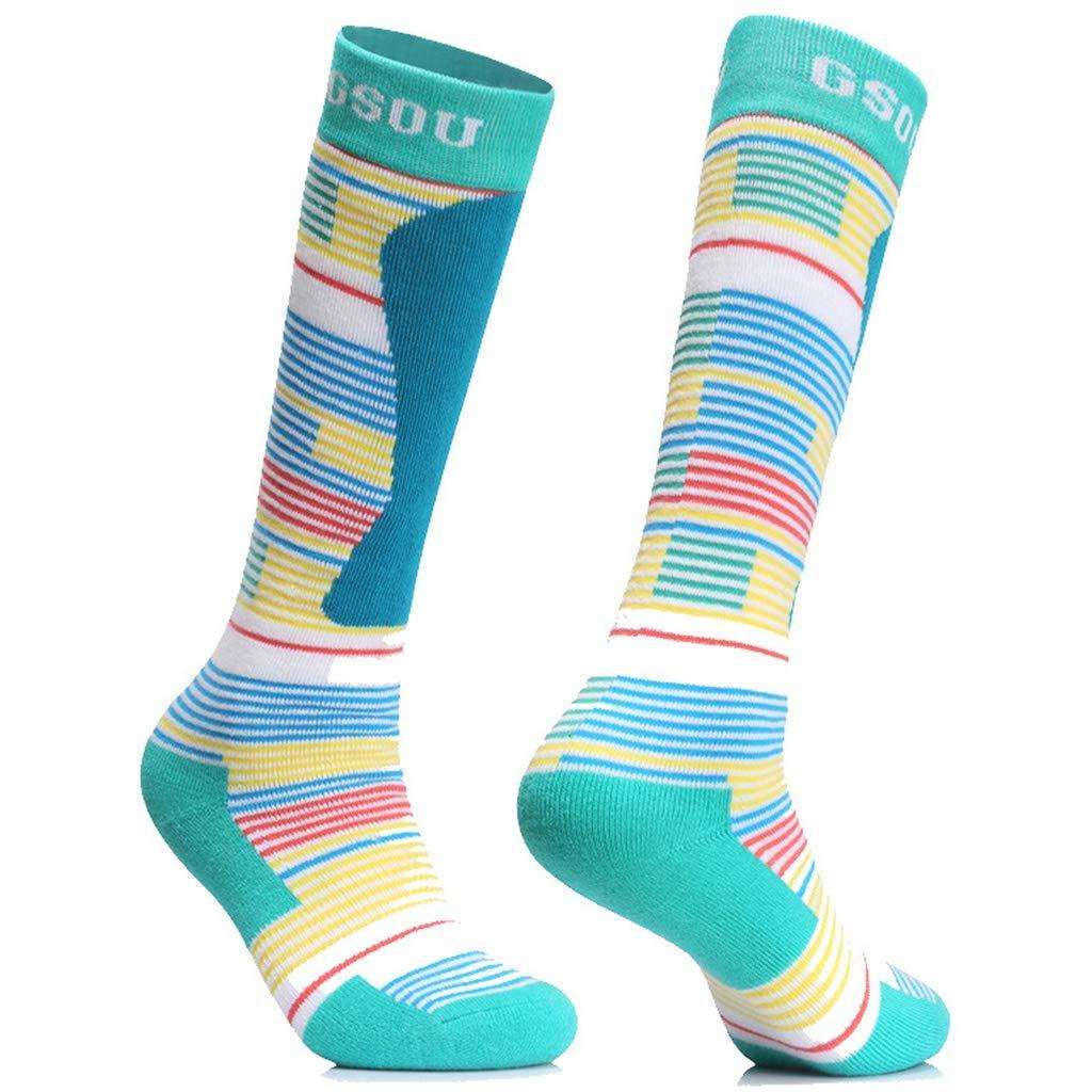 Women Compression Socks Ski Hiking Thermal Socks Wicking Winter Sport Crew Sock