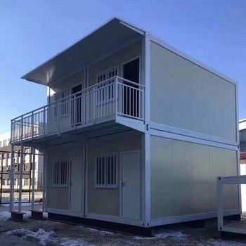 Rapid assembled houses dormitory 20ft movable  living  shipping container homes modular apartment