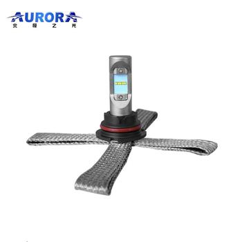 Aurora 2nd generation G10 conversion kit led headlight without fan H8 H9 9004 9005 9006 car headlights   High quality for cars