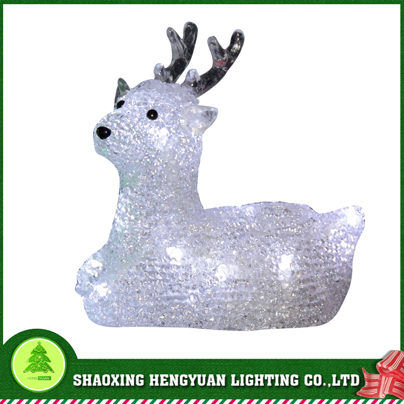 3D LED Deer outdoor animals Christmas Motif Light christmas decoration