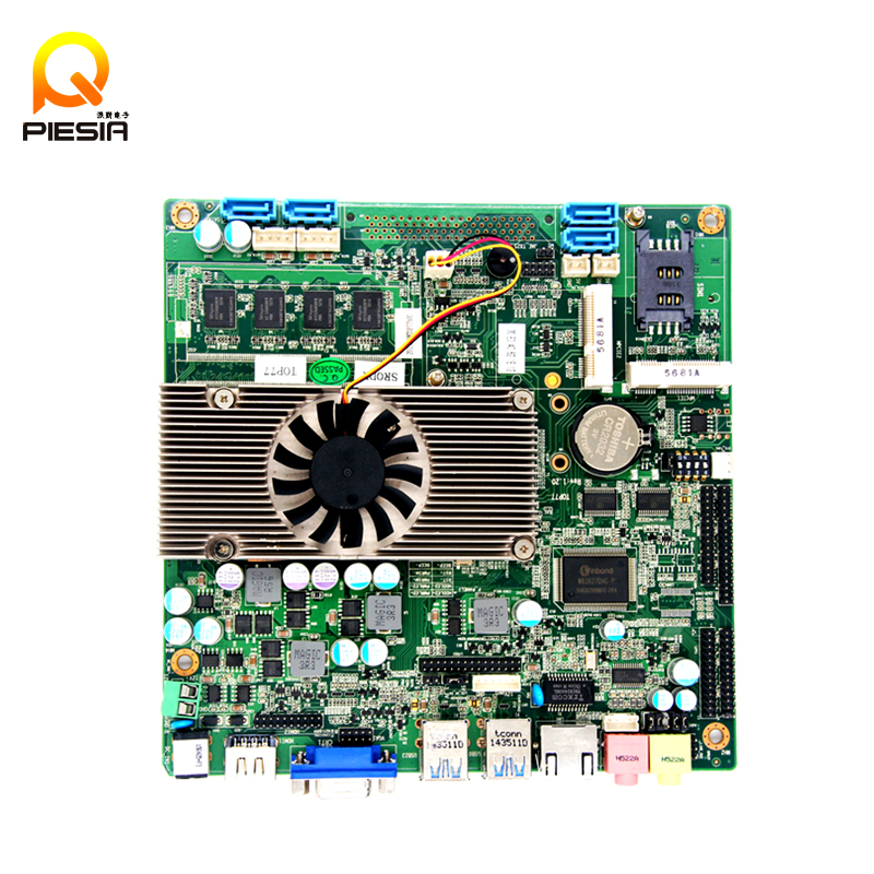 dual lan arm motherboard with 1*standard SATAIII Port ,1*SATA_HDD,Interface maximum transfer rate of 6Gb / s