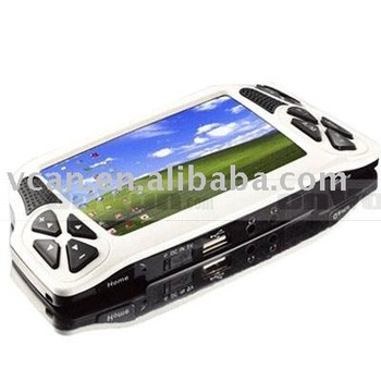 mini pc notebook portable pc with game mp4 wifi mobile. Black Bedroom Furniture Sets. Home Design Ideas
