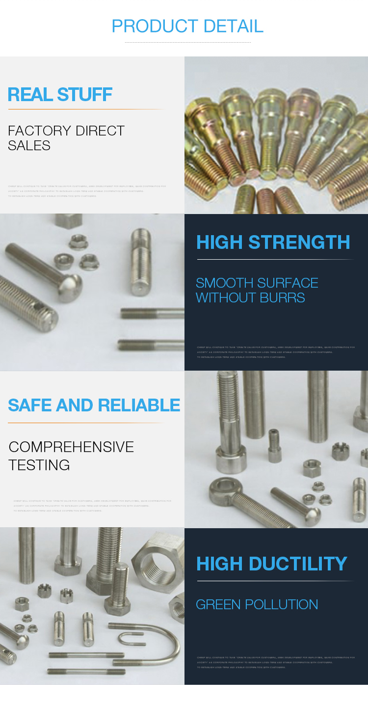 Customized Precision Non-standard Stainless Steel Screws