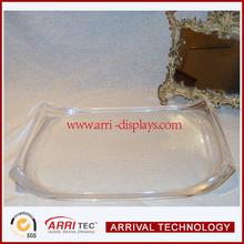 Thick Lucite / Acrylic TRAY Barware or Dresser Top,barware serving tray