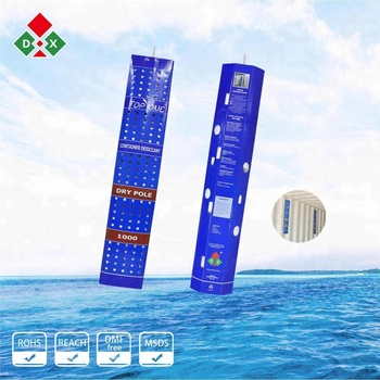 Super dry calcium chloride hanging containers desiccant bag for cargo shipping humidity control