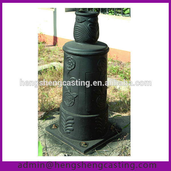 Outdoor Cast Iron Street Lamp Post Base - Buy Outdoor Lamp Post ...