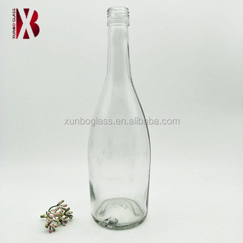 500ml 750ml liquor glass bottle whisky/red wine/vodka glass bottle