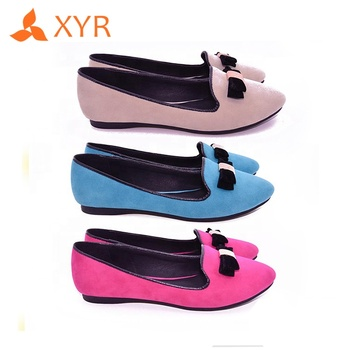 China latest fashion cheap 2018 comfortable ladies flat women shoes