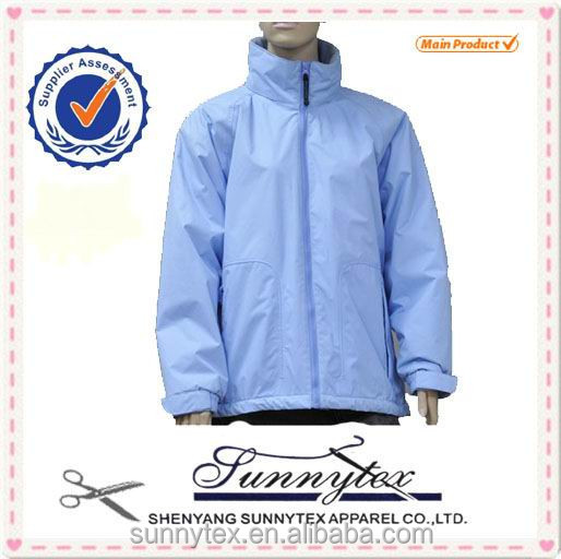 Water resistant polyester winter construction coat for women