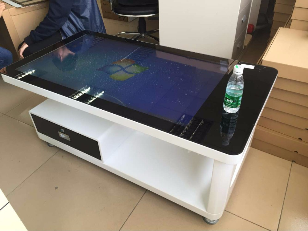 42 Inch Touch Coffee Table For Electronic System Menu