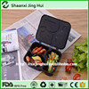 Plastic divided compartment bpa free microwave freeze safe restaurant use 3 compartments food container
