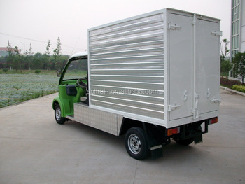 2 Zits Elektrische Minibus Te Koop Elektrische Pick Up Met Laadbak