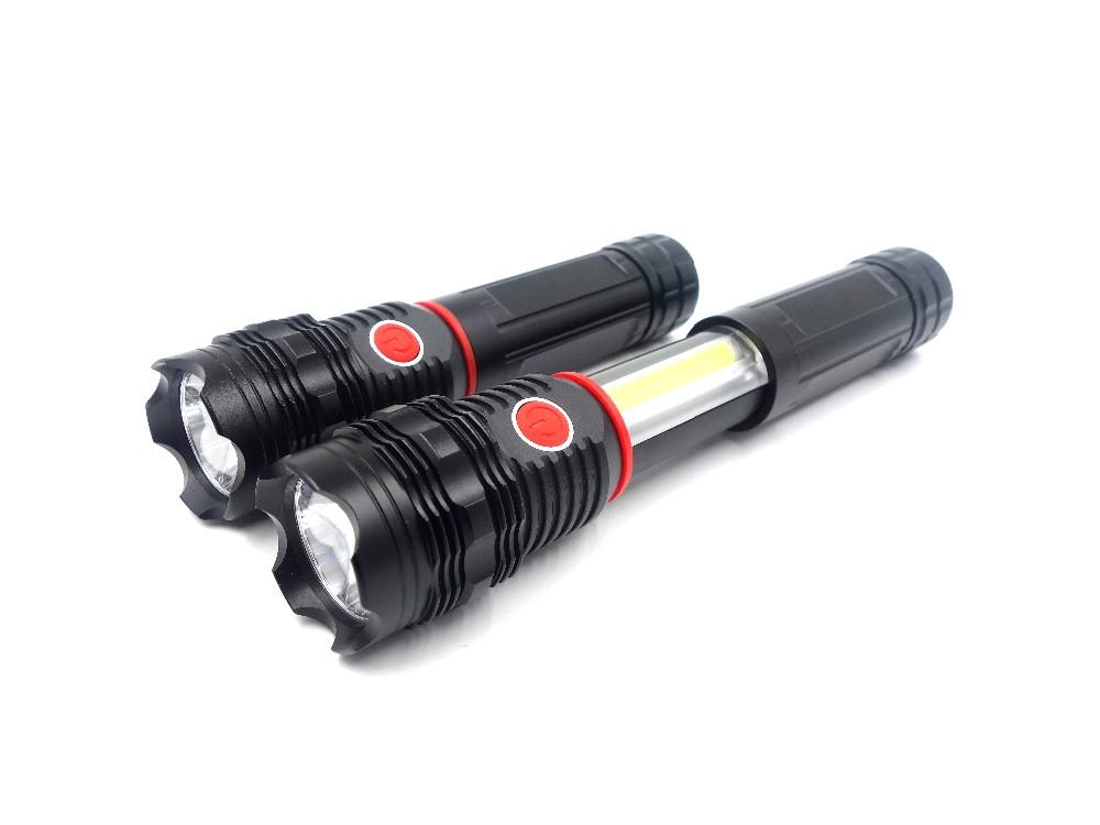 Extendable Weatherproof Ultra-Slide Super Bright Magnetic LED Flashlight Area Lighting Flash Bar Lights COB 200 Lumen