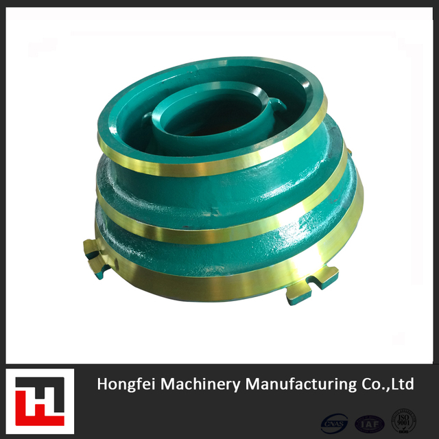 OEM QUALITY METSO GP100 CONE CRUSHER PARTS CONCAVE AND MANTLE