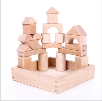 Natural Wood Building Blocks Children S Educational Toy Kids Wooden Toy Diy Car Toy Buy Building Blocks Toys 3d Puzzle Wooden Toy Diy Wooden Toy