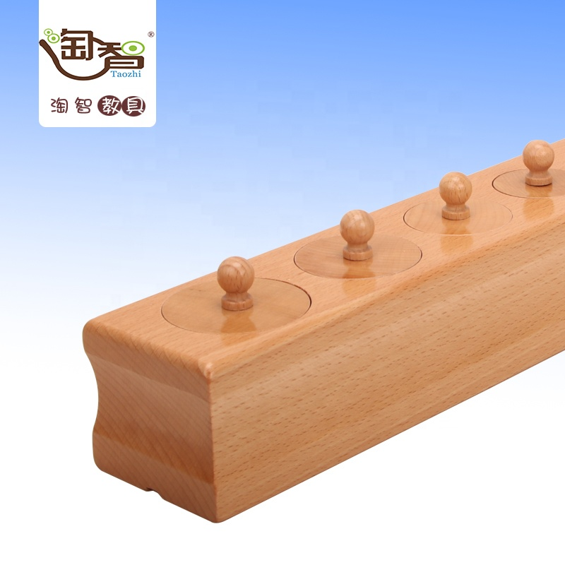 material montessori,wooden toy,Material montessori educational toys in china - Cylinder Block (Set of 4)