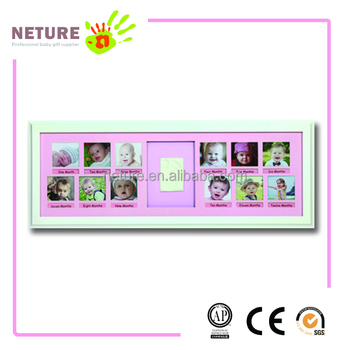 Wholesale Hand And Foot Print Baby 12 Month Photo Frame - Buy Baby ...