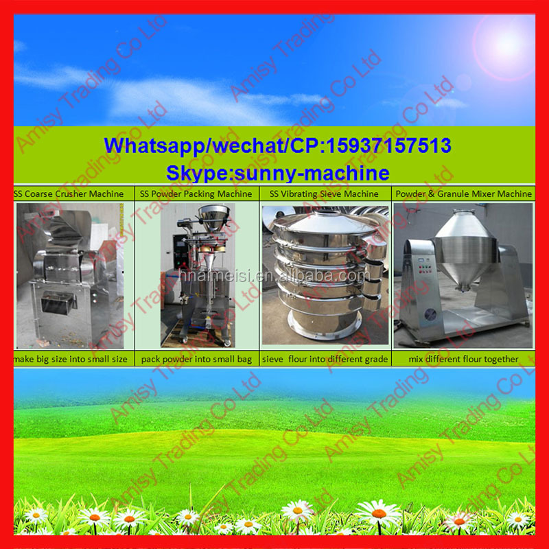 Wf-60b Industrial Pulse Herb Grinder Machine With Dust Collector ...