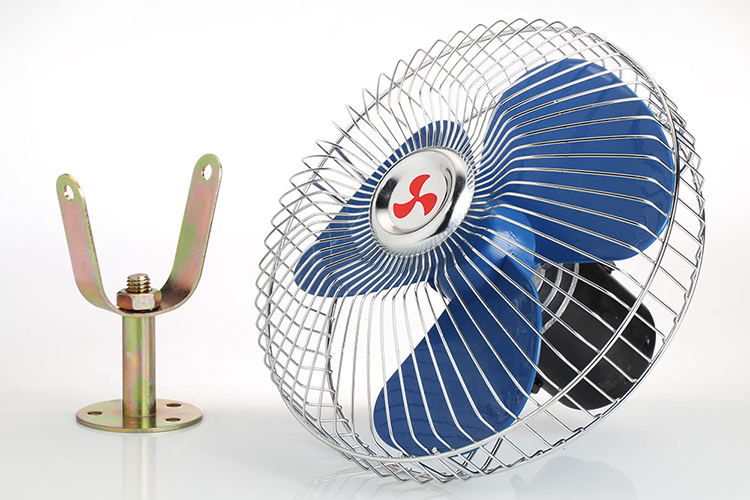 Factory Hot Sale 6 / 8 inch strong wind metal fan heavy duty DC 12 24v