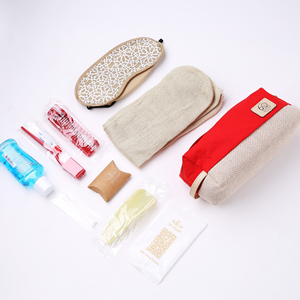 Disposable active leisure office custom personal care travel kit/set with logo for ladies/women