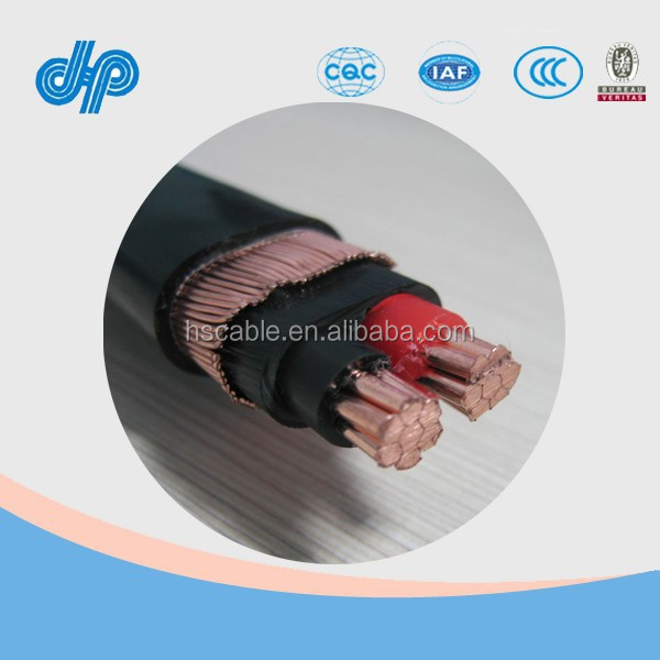 600v Xlpe Low Voltage Copper Concentric Neutral Screen Cable - Buy ...