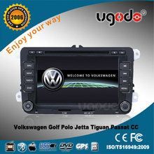 ugode auto DVD for polo volkswagen Polo dvd gps navigation AD-6025 private frame OEM RNS510