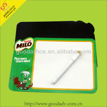 With cute cartoon design magnetic writing board