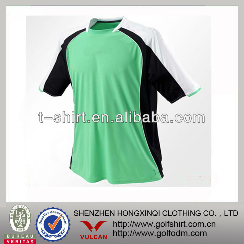 popular color combinations men's soccer jersey with performance