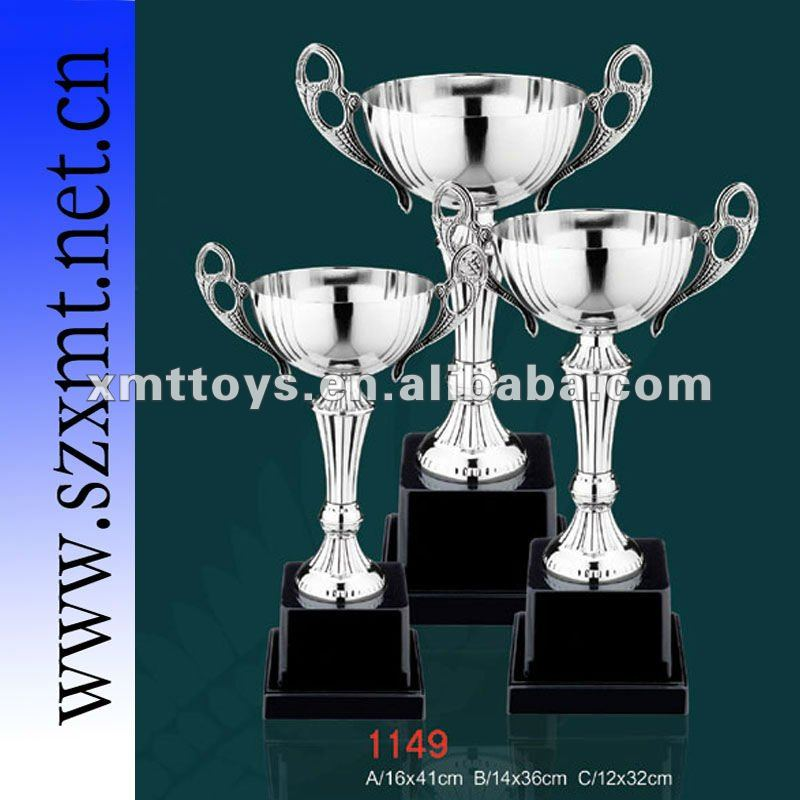Award sports metal trophy for excellent racing boat;runner boat